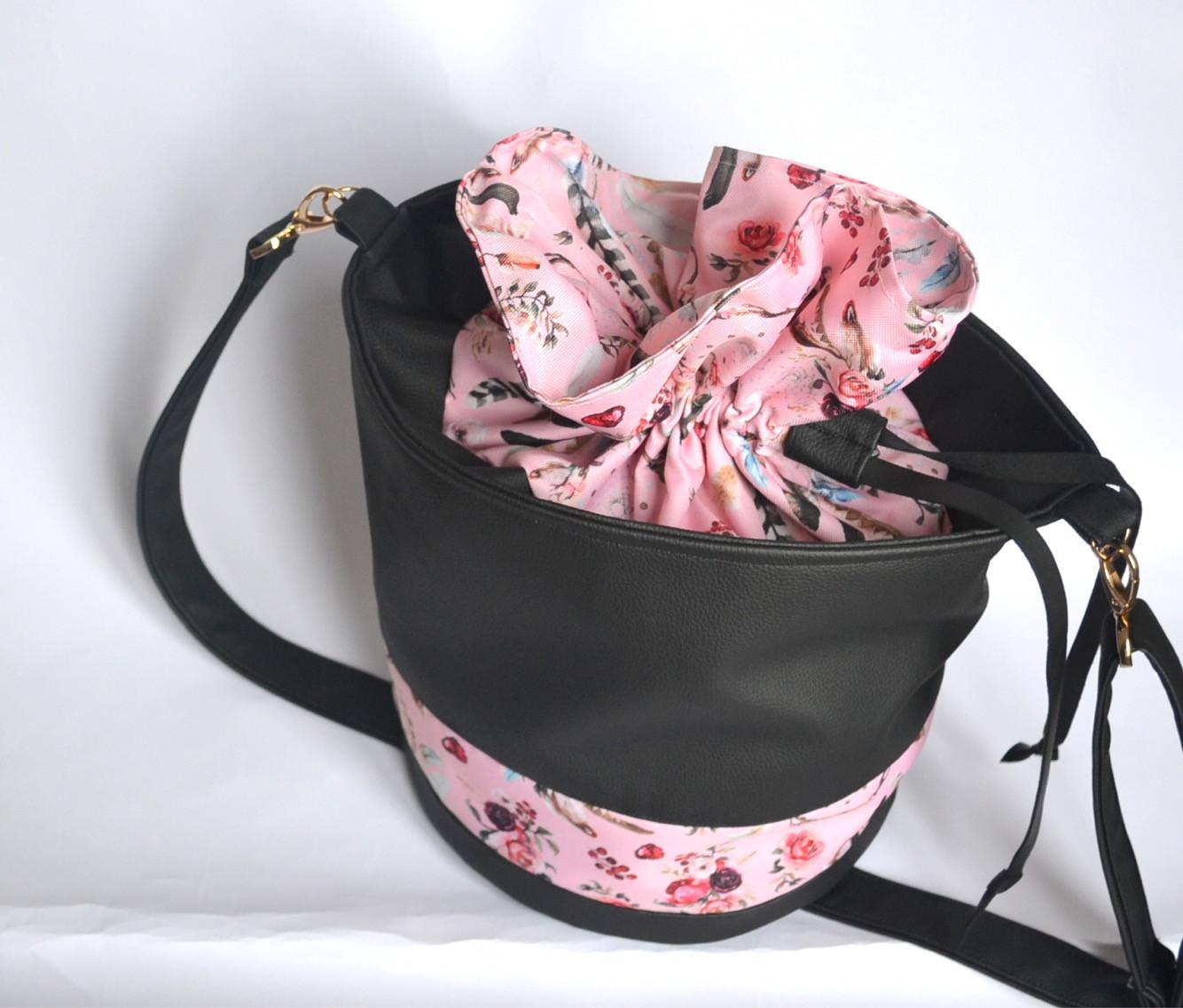 attrape un reve grand noir rose bonbon sac qfwCUq7