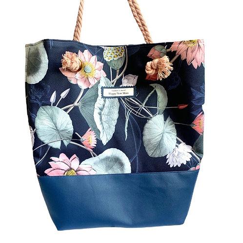 Happy Summer MYSTIC FLOWERS blue marine