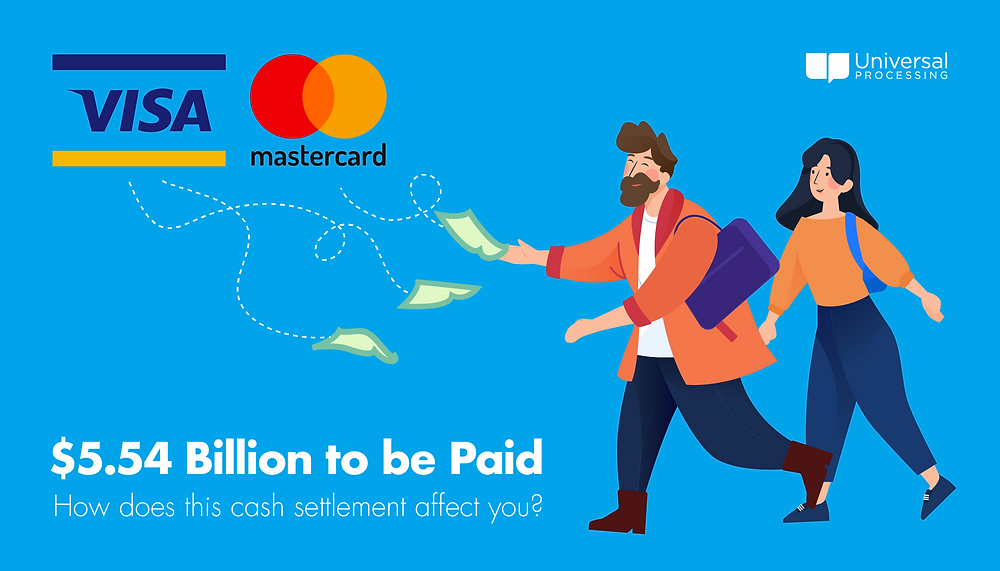 $5.54 Billion Visa Mastercard Cash Settlement Universal - Case Background Info and How it Affects Small Business Owners Processing Blog