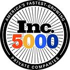 Inc 5000 Award Honoree Logo Cutout 2020 | Unviersal Processing