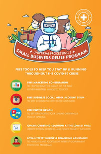 Universal Processing Small Business Relief Program Resources for Small Businesses Coronavirus Relief Program