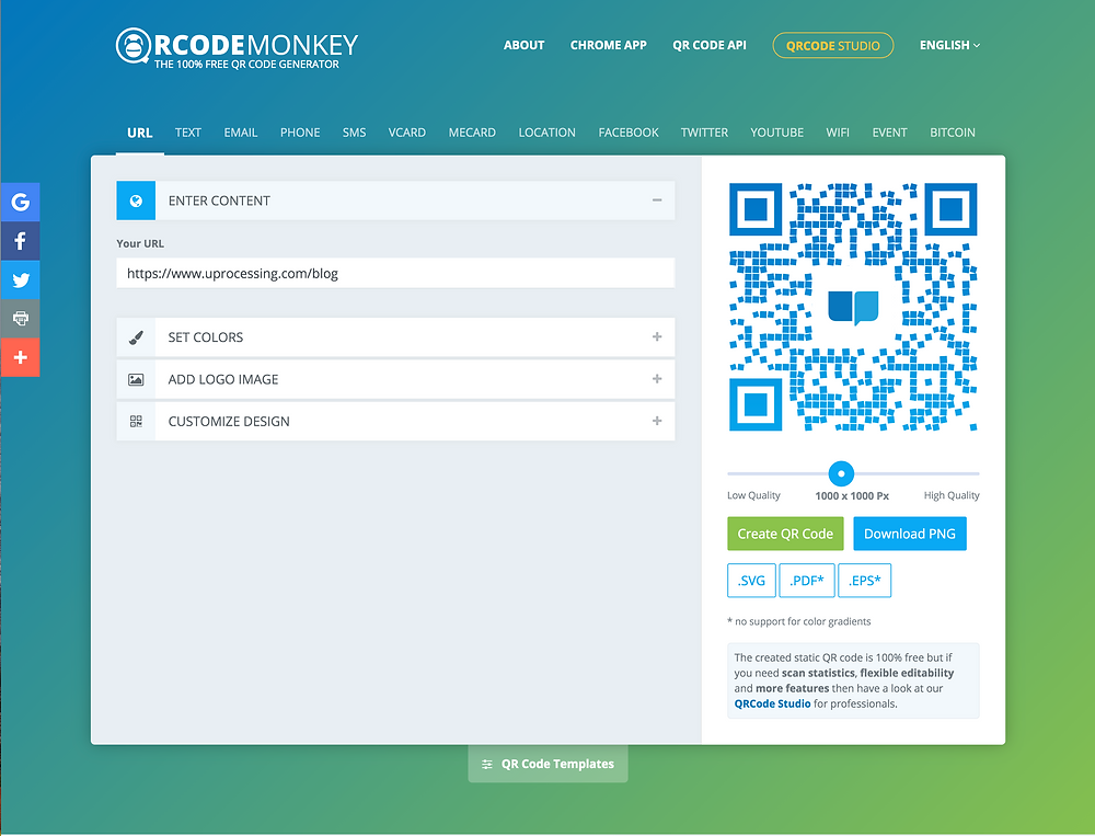 Our Pick for the Best Free QR Code Generator - QR Code Monkey