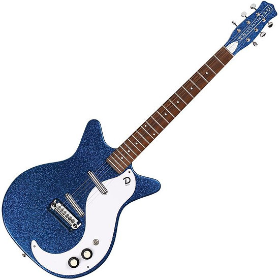 Danelectro 60th Anniversary DC59 ~ Deep Blue Metalflake
