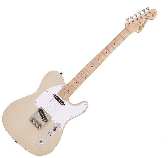 Vintage V58 Jerry Donahue ReIssued Electric Guitar ~ Ash Blonde