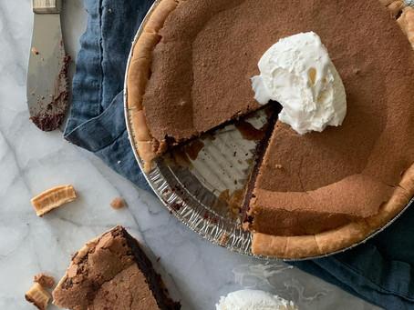 Gluten Free Chocolate Brown Sugar Pie