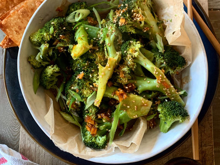 Saucy Sesame Ginger Broccoli