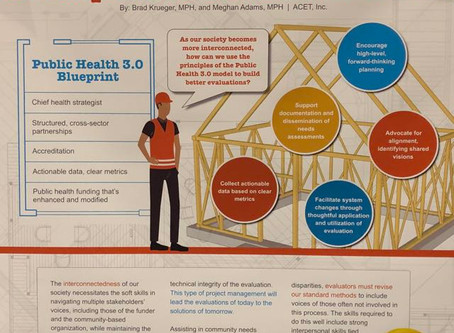 Using Public Health 3.0 as a Blueprint to Build Evaluations