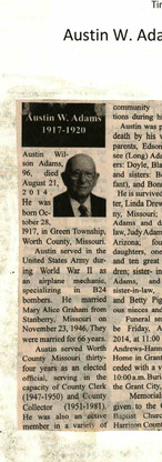 18. Austin W. Adams 1