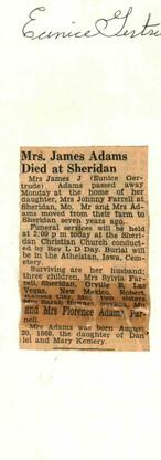 32. Eunice Gertrude Adams