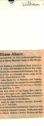 10. William Abarr