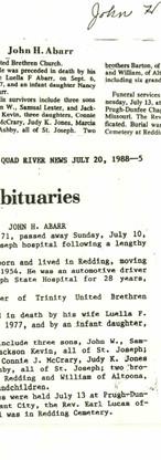 8. John H. Abarr