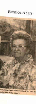 1. Bernice Abarr