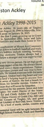 17. Tristain Wayne Ackley 2