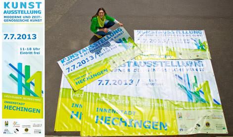 Streetart Hechingen 2013 Hauptsponsor Nadine Ottenbreit KUNSTwerk Hechingen