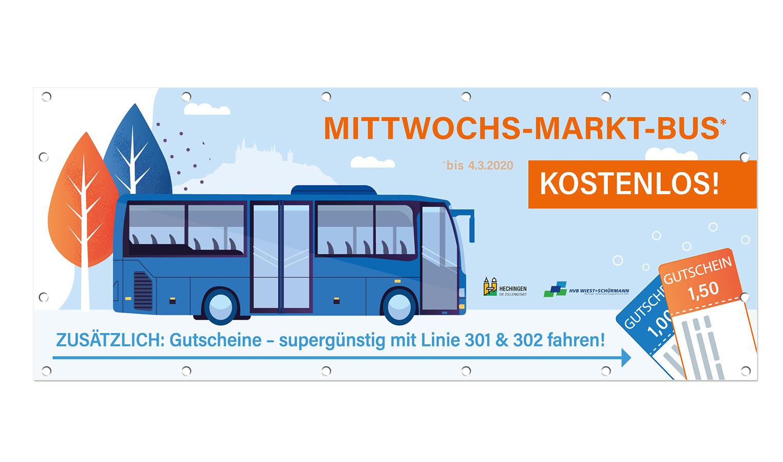 Stadtbus Obertorplatz Hechingen