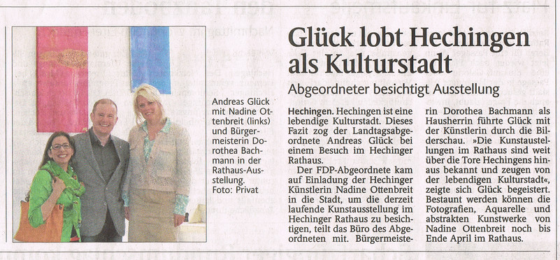 Besuch des MdL Andreas Glück