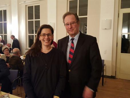 Wahlkampf von Andreas Glück // Treffen mit Klaus Kinkel