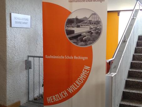 """Neues """"OUTFIT""""  für die Kaufmännische Schule Hechingen"""