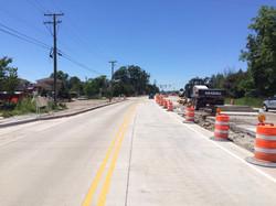 New lanes open east of Vaughn Road