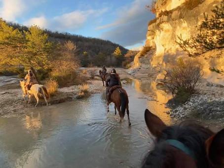 Du 27 au 29 Octobre-Randonnée Itinérante Lubéron et Colorado Provençal