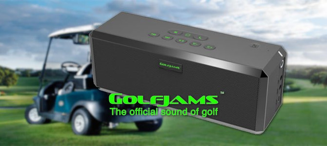 Golfjams Bluetooth Golf Car Speaker Systems NOW AVAILABLE from Yamaha Golf & Utility!