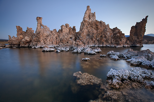 Tufa Towers from the Lake
