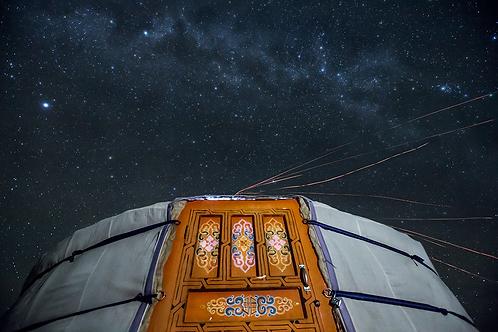 Mongolian Night Sky