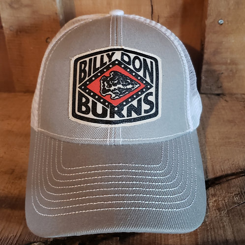 TRUCKER HAT - GRAY/WHITE