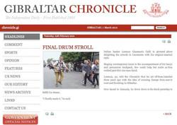 2012 - gibraltar chronicle