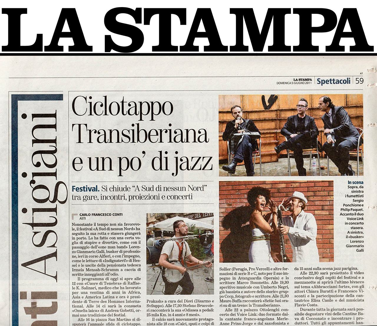 2011 - La stampa - ITALY