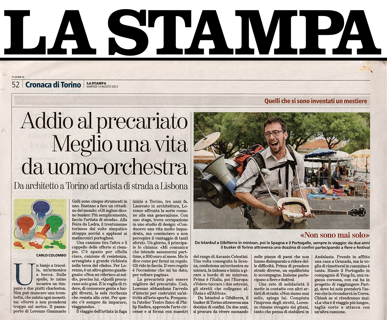 2012, La stampa, ITALY