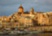 Senglea over the Grand Harbour