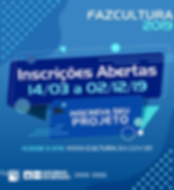 Inscricoes_Fazcultura_2019_Card_Chamada.