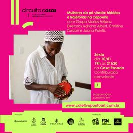 Mulheres da pá virada: histórias e trajetórias na capoeira