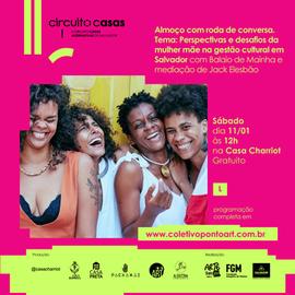 Perspectivas e desafios da mulher mãe na gestão cultural em  Salvador Perspectivas e desafios da mulher mãe na gestão cultural em  Salvador