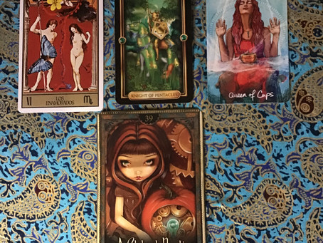 Tarotscope for April Seeming chaos of life suddenly rearranges itself into a brilliant opportunity