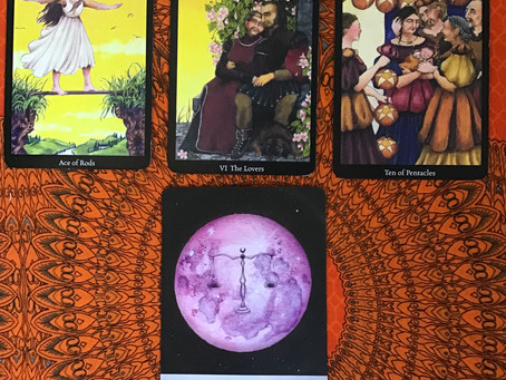Tarot Scope for the month of March Earth Signs