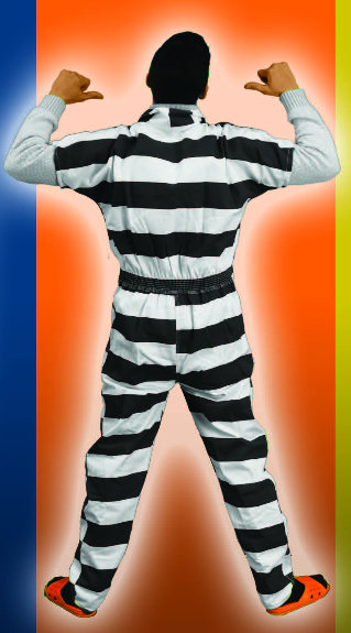 Coveralls, Striped Colors sizes 8XL-10XL