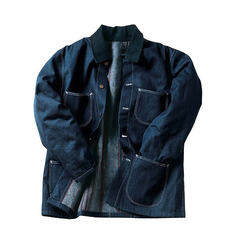 Denim Work Coat