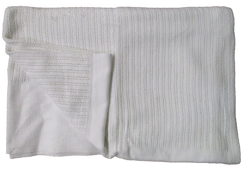 Leno Weave Thermal Blanket