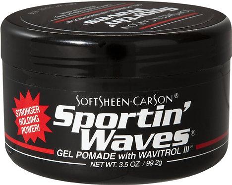 3.5 oz Sportin' Waves Gel Pomade