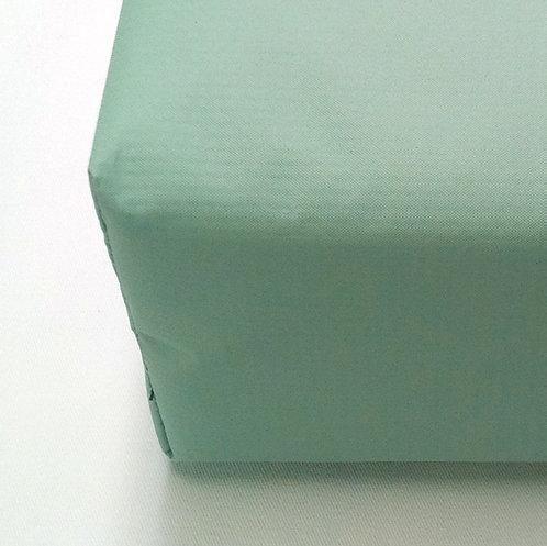 Green Vinyl Sewn Seam Institutional Mattress