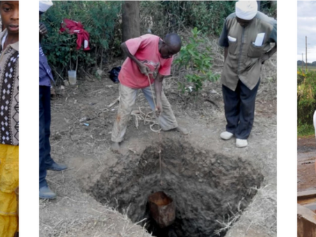 Excited Villagers Get Two Wells