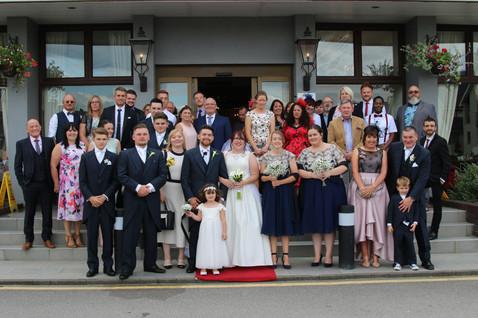Allon wedding party