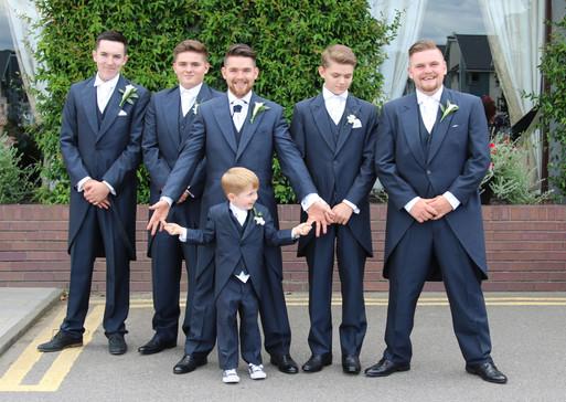 Allon wedding, the boys