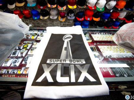 $260,000 Worth of Super Bowl XLIX Merchandise Seized by Customs and Border Protection (CBP)