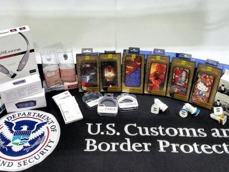 CBP Seizes $1.1 Million of Counterfeit Mobile Phone Accessories