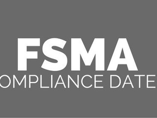 FDA Extends FSMA Compliance Dates