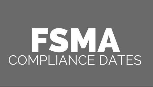 FDA Extends FSMA Compliance Dates
