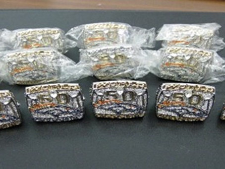 CBP Seizes Counterfeit Super Bowl Rings